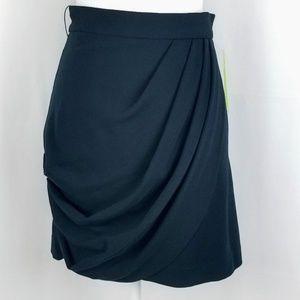 NWT Alice + Olivia layered black mini skirt
